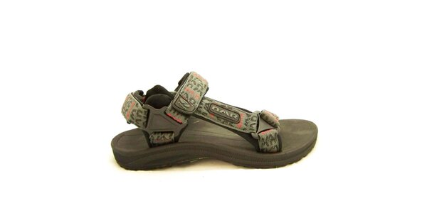 Pánske šedé trekové sandále Numero Uno