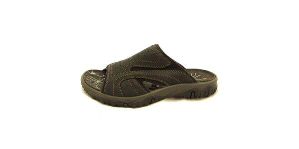 Pánske čierne nazúvacie topánky Numero Uno