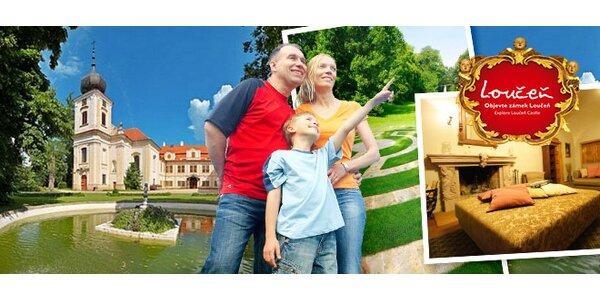 Letný ZÁŽITKOVÝ pobyt na zámku Loučeň