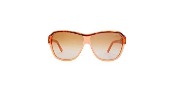 Dámske oranžové slnečné okuliare Carrera