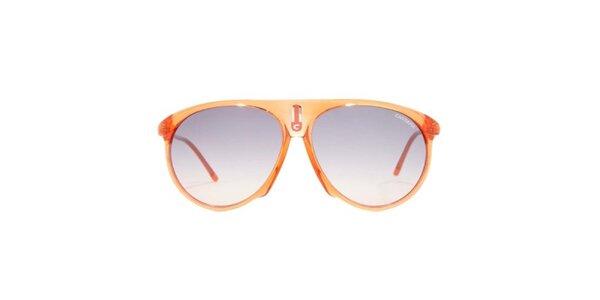 Oranžové slnečné okuliare Carrera