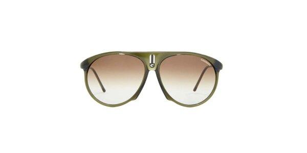 Khaki slnečné okuliare Carrera