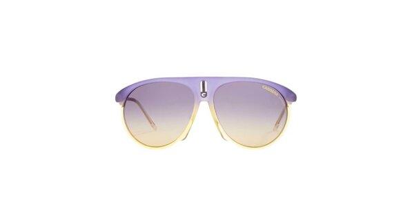 Fialovo-žlté slnečné okuliare Carrera