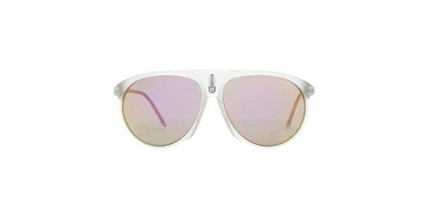 Šedé slnečné okuliare Carrera
