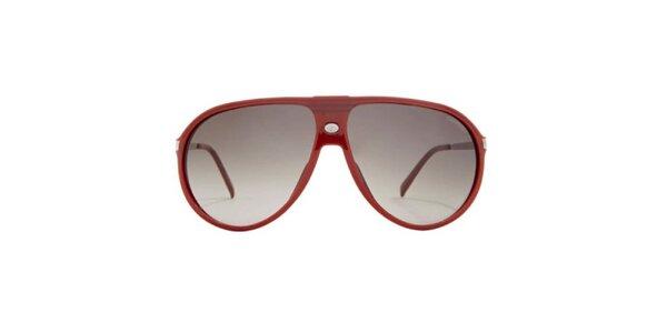 Červené slnečné okuliare Carrera