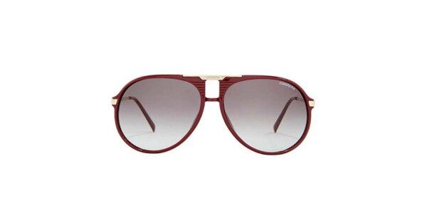 Vínové slnečné okuliare Carrera