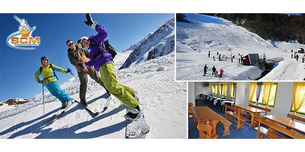 Víkendový pobyt a lyžovačka v Slovenskom raji