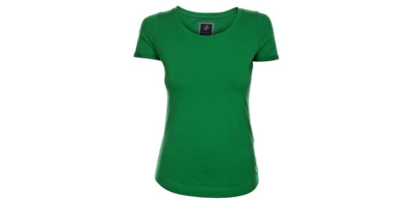Dámske trávovo zelené tričko Pietro Filipi s krátkým rukávom