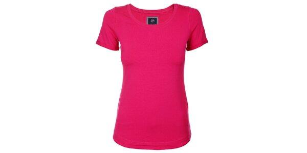 Dámske ružové tričko Pietro Filipi s krátkým rukávom