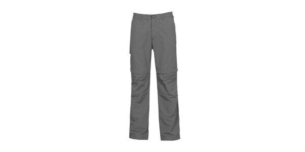 Pánske antracitové nastaviteľné nohavice Bergson