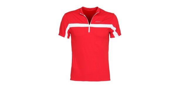 Pánske červené cyklistické tričko Bergson