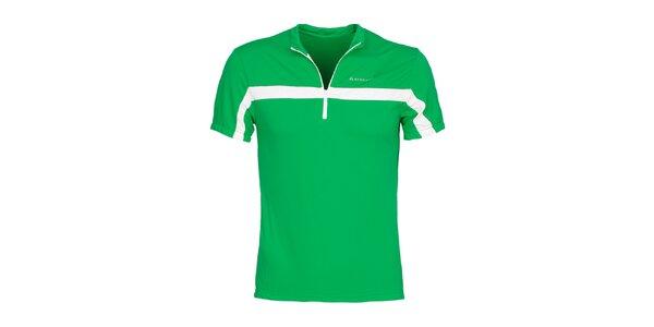 Pánske zelené cyklistické tričko Bergson