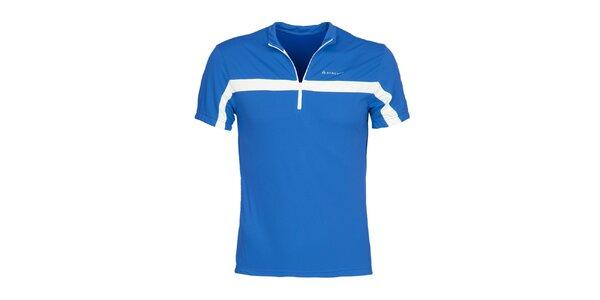 Pánske modré cyklistické tričko Bergson