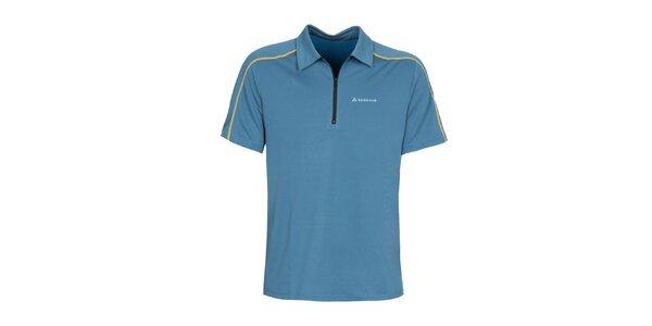 Pánsky modrošedý dres s krátkym rukávom Bergson