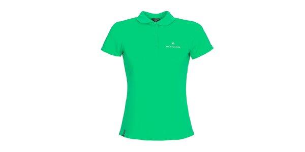 Dámske zelené polo tričko Bergson