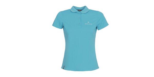 Dámske svetlo modré polo tričko Bergson