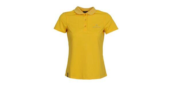 Dámske žlté polo tričko Bergson