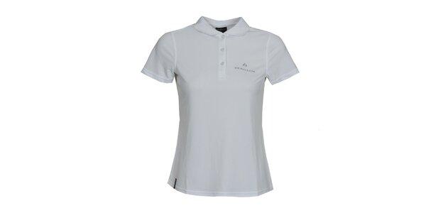 Dámske biele polo tričko Bergson