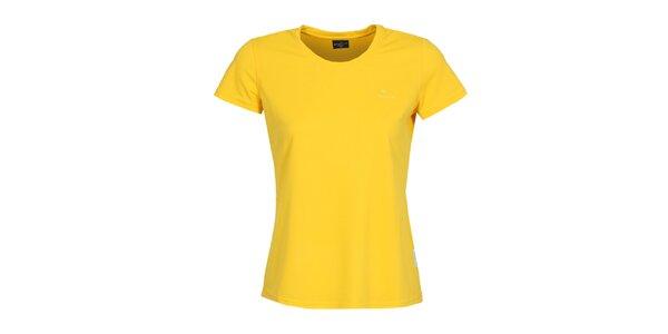 Dámske funkčné citronové tričko s krátkym rukávom Bergson