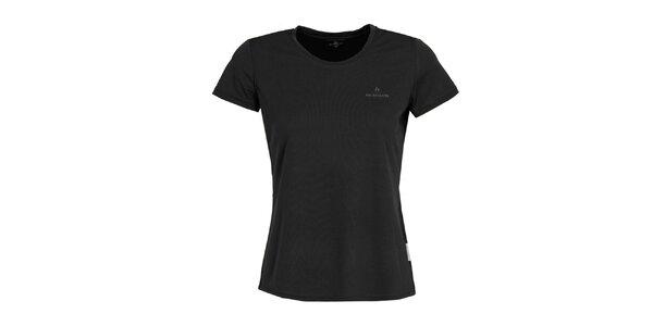 Dámske funkčné čierne tričko s krátkym rukávom Bergson