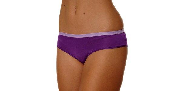 Dámske fialové nohavičky Calvin Klein