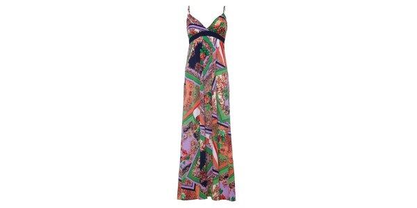 Dámske dlhé farebné šaty Uttam Boutique