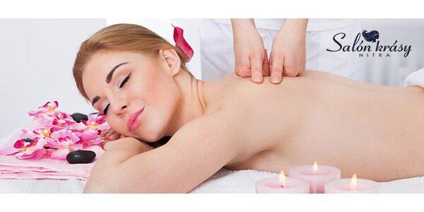 Klasická masáž chrbta a šije
