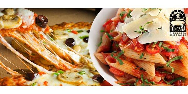 Chutné menu v Pizerii Toscana
