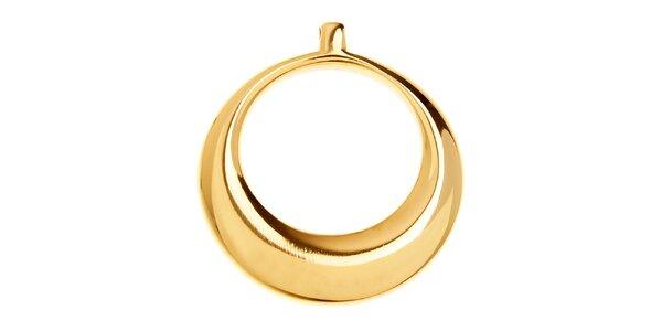 Dámsky zlatý titanový prívesok Danish Design
