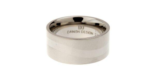 Dámsky titanový prsteň Danish Design