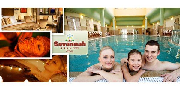 Luxusný wellness pobyt v Hoteli Savannah**** deluxe pri Znojme