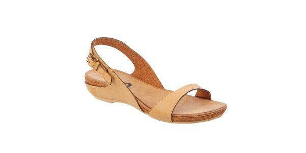 Dámske béžové sandále Betsy