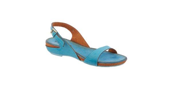 Dámske modré sandále Betsy