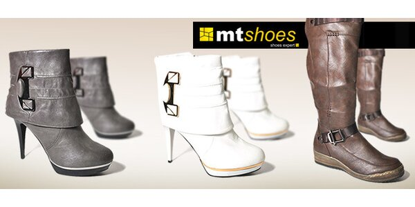 Rôzne modely čižiem od MT shoes