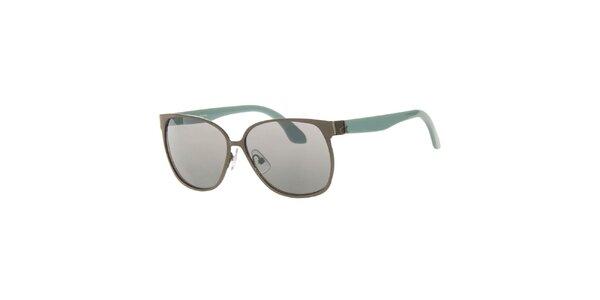 Dámske slnečné okuliare s oválnymi obrubami Calvin Klein