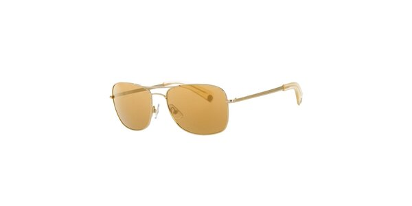 Pánske horčicové slnečné okuliare Calvin Klein