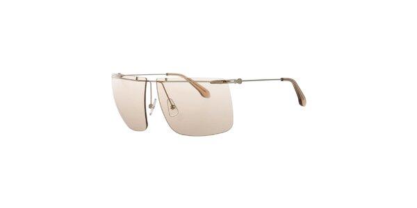 Pánske slnečné okuliare s ružovými sklíčkami Calvin Klein