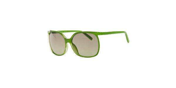 Dámske zelené slnečné okuliare Calvin Klein