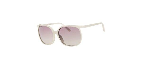 Dámske biele slnečné okuliare Calvin Klein