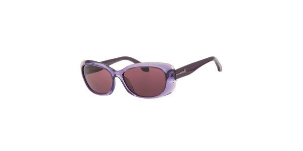Dámske fialové slnečné okuliare Calvin Klein