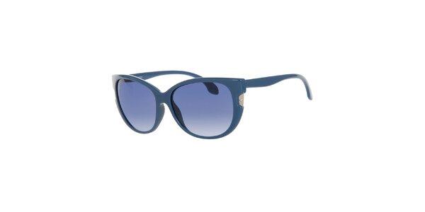 Dámske tyrkysovomodré slnečné okuliare Calvin Klein