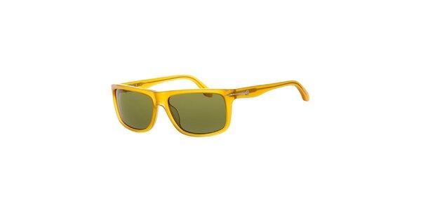 Pánske žlté slnečné okuliare Calvin Klein