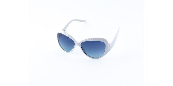 Dámske biele slnečné okuliare Guess
