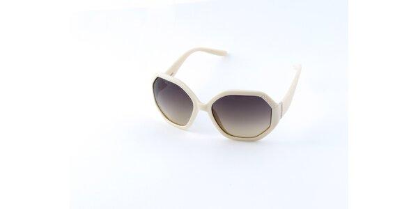 Dámske krémové okuliare Guess