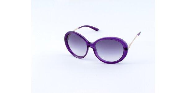 Dámske purpurové slnečné okuliare Guess
