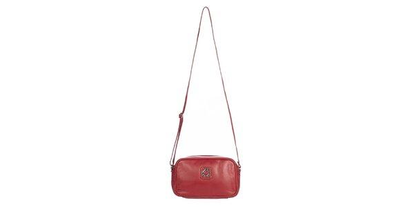 Dámska malá červená kabelka Marsanpiel