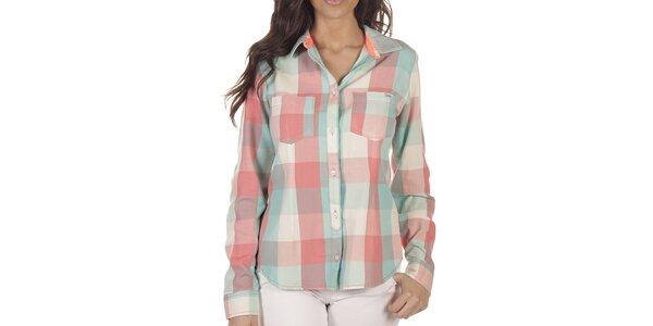 Dámska farebne kockovaná košeľa Lois