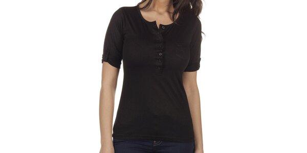 Dámske čierne tričko Lois