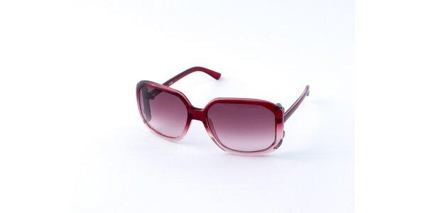Dámske červené slnečné okuliare Guess