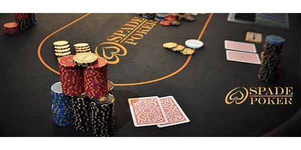 Kurz pokru alebo Párty poker so Spade poker